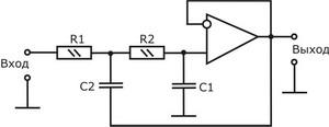 Схема активного фильтра для сабвуфера фото 731